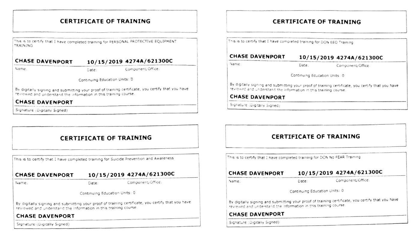 Qualifications & certifications
