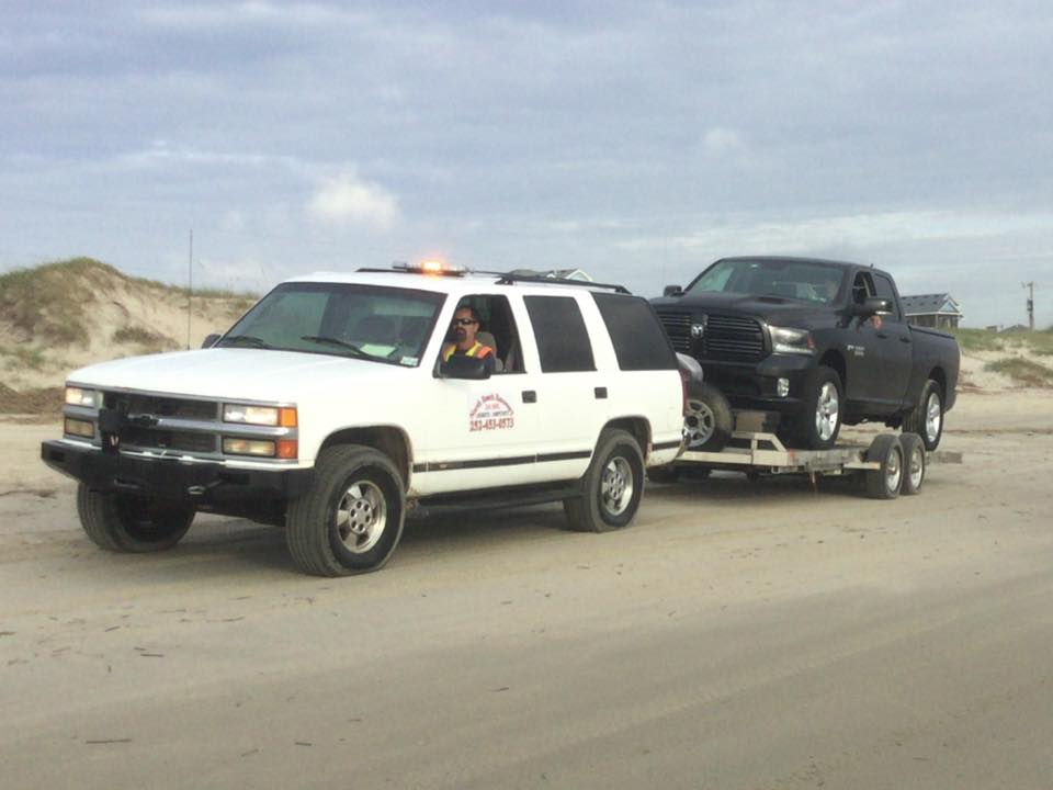 Roadside assistance and vehicle repairs breakdowns Corolla Outer Banks OBX Virginia Beach North Beach service